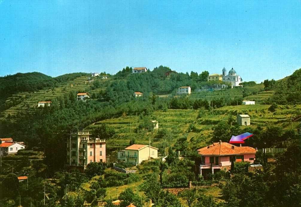 Esterna B&B Oasi Verde Castiglione Chiavarese