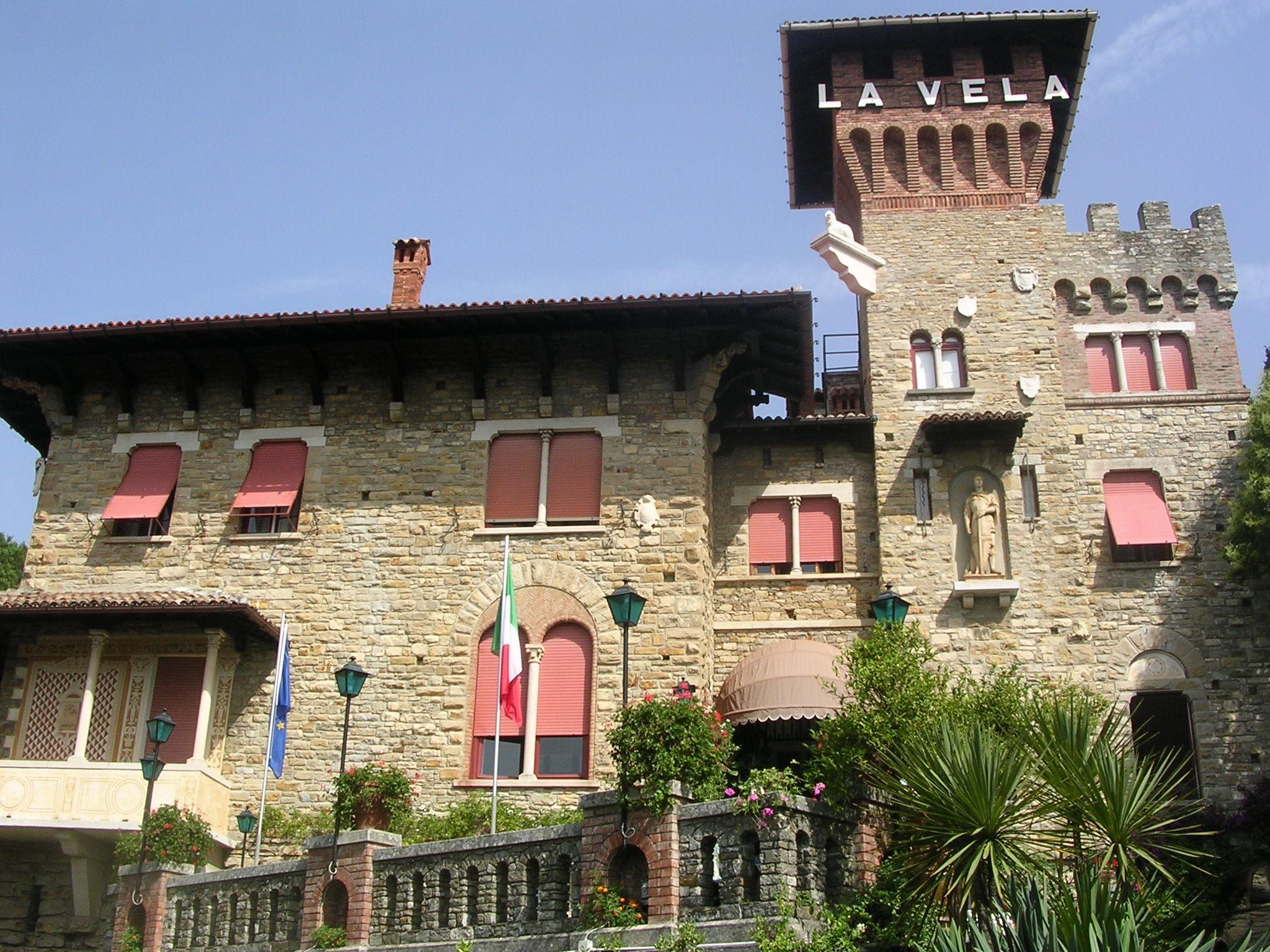 Esterna Hotel La Vela Santa Margherita