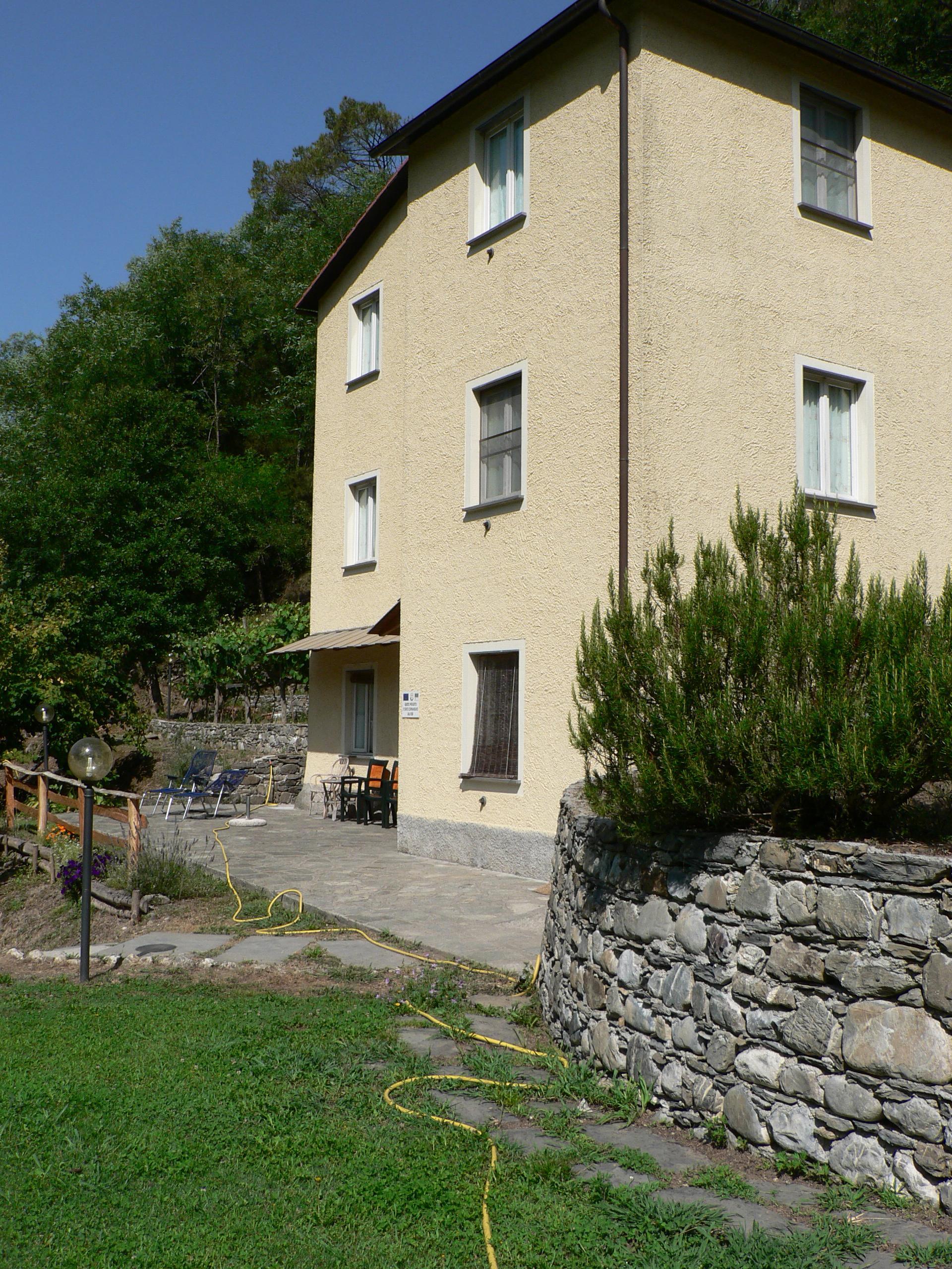 Esterna Locanda il Mulino San Colombano Certenoli
